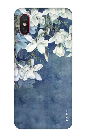 White Flower Xiaomi Mi 8 Pro Cases & Covers Online