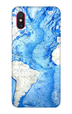World Map Xiaomi Mi 8 Pro Cases & Covers Online
