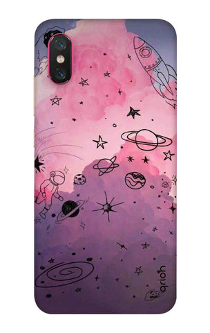 Space Doodles Art Xiaomi Mi 8 Pro Cases & Covers Online