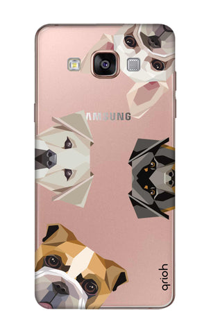Geometric Dogs Samsung A9 Cases & Covers Online