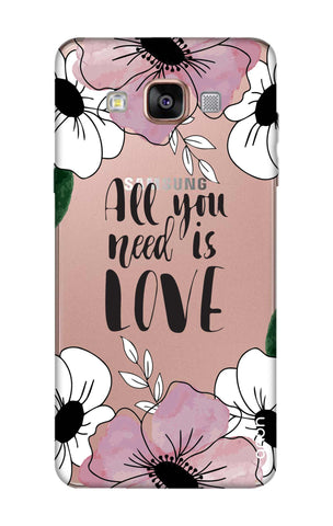 All You Need is Love Samsung A9 Cases & Covers Online