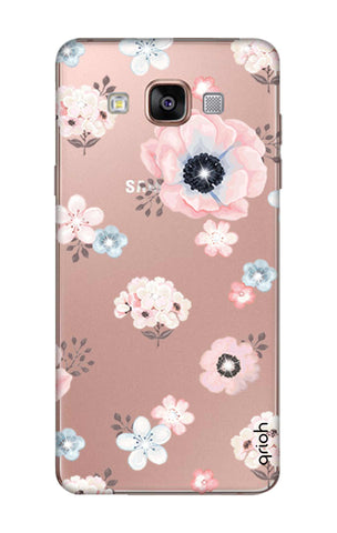 Beautiful White Floral Samsung A9 Cases & Covers Online