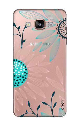 Pink And Blue Petals Samsung A9 Cases & Covers Online
