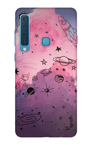 Space Doodles Art Samsung A9 2018 Cases & Covers Online