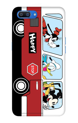 Cartoon Bus Oppo Realme C1 Cases & Covers Online