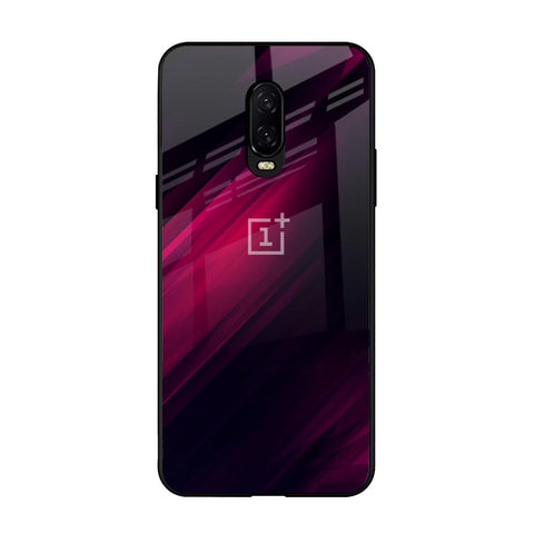 Razor Black OnePlus 6T Glass Cases & Covers Online