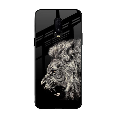 Brave Lion OnePlus 6T Glass Cases & Covers Online