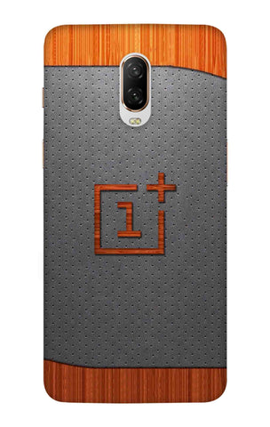 Printed Logo Texture OnePlus 6T Cases & Covers Online