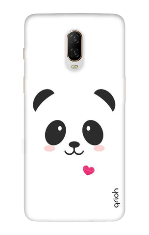 Panda Heart OnePlus 6T Cases & Covers Online