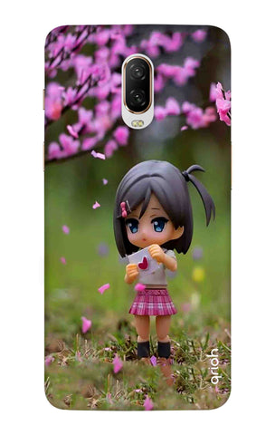 Cute Girl OnePlus 6T Cases & Covers Online