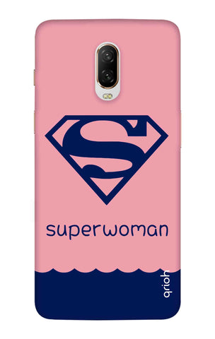 Be a Superwoman OnePlus 6T Cases & Covers Online