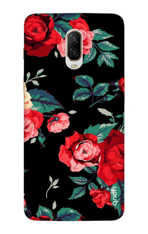Wild Flowers OnePlus 6T Cases & Covers Online