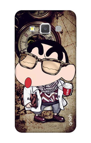 Nerdy Shinchan Samsung A3 Cases & Covers Online