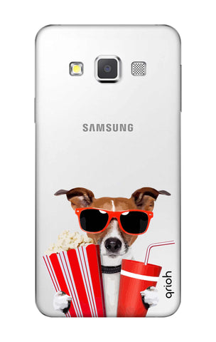 Dog Watching 3D Movie Samsung A3 Cases & Covers Online