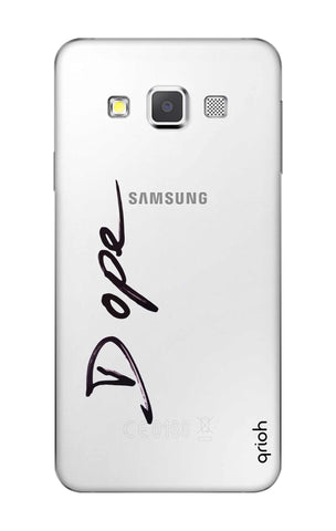 Dope Paint Black Samsung A3 Cases & Covers Online