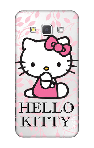 Hello Kitty Floral Samsung A3 Cases & Covers Online