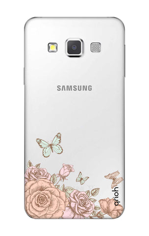 Flower And Butterfly Samsung A3 Cases & Covers Online