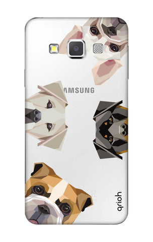 Geometric Dogs Samsung A3 Cases & Covers Online
