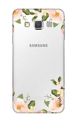 Flower In Corner Samsung A3 Cases & Covers Online