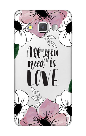All You Need is Love Samsung A3 Cases & Covers Online