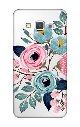 Pink And Blue Floral Samsung A3 Cases & Covers Online