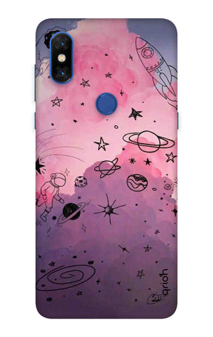 Space Doodles Art Xiaomi Mi Mix 3  Cases & Covers Online