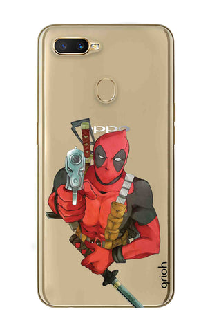 Deadpool Warrier Oppo A7 Cases & Covers Online