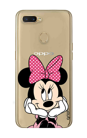 Minnie In Deep Thinking Oppo A7 Cases & Covers Online