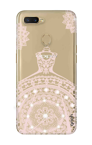 Bling Wedding Gown Oppo A7 Cases & Covers Online