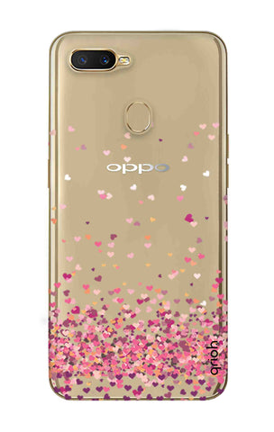 Cluster Of Hearts Oppo A7 Cases & Covers Online