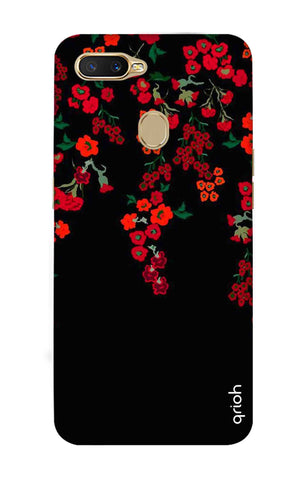 Floral Deco Oppo A7 Cases & Covers Online