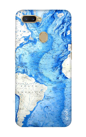World Map Oppo A7 Cases & Covers Online
