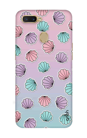 Gradient Flowers Oppo A7 Cases & Covers Online