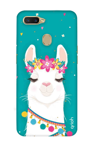 Cute Llama Oppo A7 Cases & Covers Online