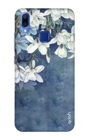 White Flower Vivo Y95 Cases & Covers Online