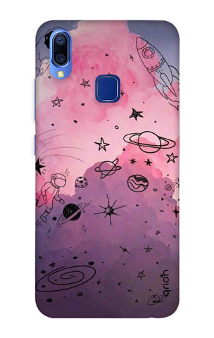 Space Doodles Art Vivo Y95 Cases & Covers Online