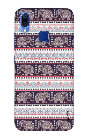 Elephant Pattern Vivo Y95 Cases & Covers Online