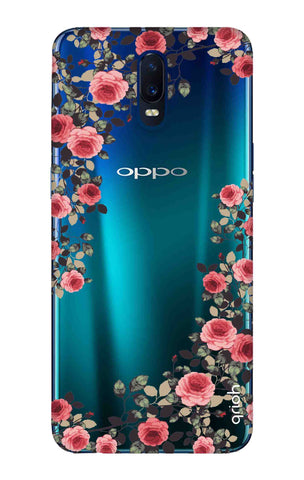 Floral French Oppo R17 Cases & Covers Online