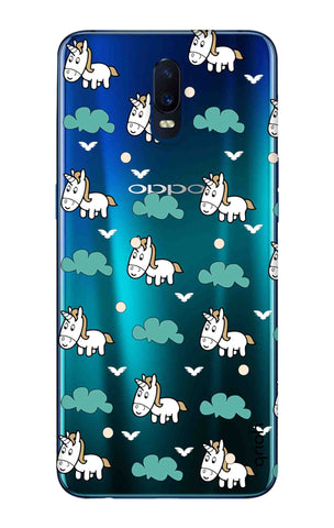 Unicorn In The Clouds Oppo R17 Cases & Covers Online