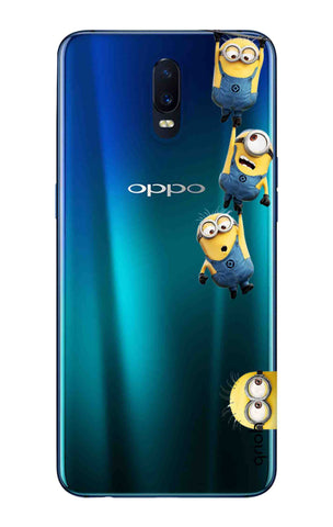 Falling Minions Oppo R17 Cases & Covers Online