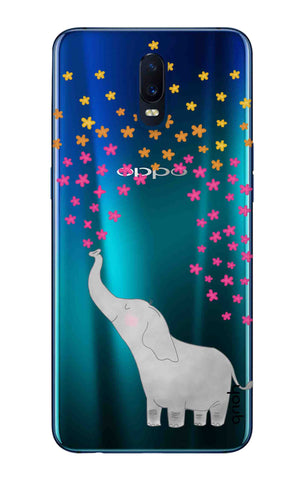 Cute Elephant Oppo R17 Cases & Covers Online