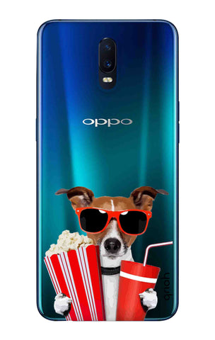 Dog Watching 3D Movie Oppo R17 Cases & Covers Online