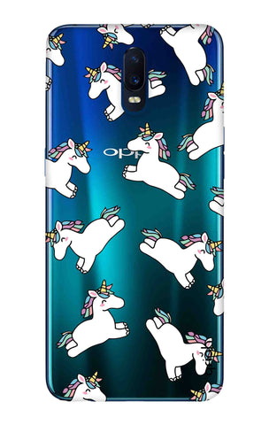 Jumping Unicorns Oppo R17 Cases & Covers Online