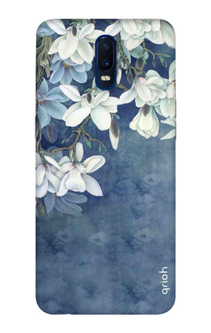 White Flower Oppo R17 Cases & Covers Online