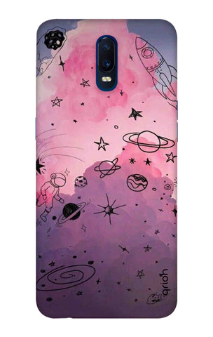 Space Doodles Art Oppo R17 Cases & Covers Online