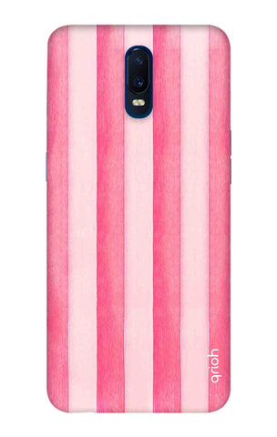 Painted Stripe Oppo R17 Cases & Covers Online