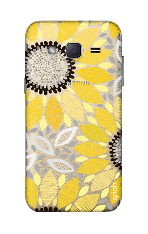 Stitched Floral Samsung J2 Cases & Covers Online