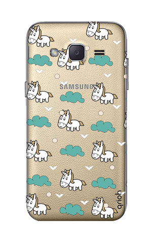 Unicorn In The Clouds Samsung J2 Cases & Covers Online