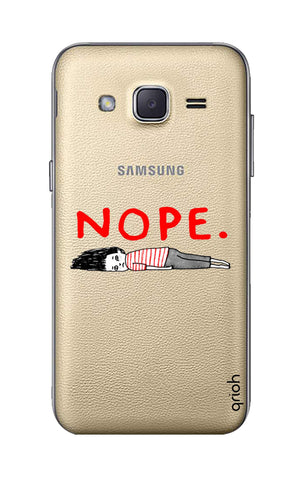Nope Samsung J2 Cases & Covers Online