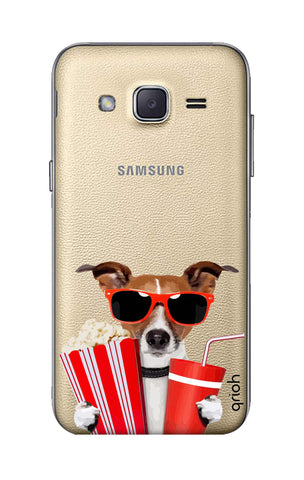 Dog Watching 3D Movie Samsung J2 Cases & Covers Online